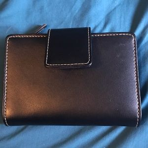 Black like new Target brand wallet.